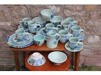 29 Pieces of Handmade Ceramics By Healy Pottery Irish Studio Pottery Dinner Tea Set