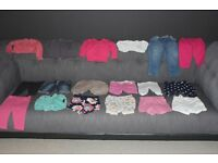 Large Bundle of Girls Clothes Age 6-9 Months