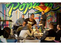 BAND GOING 2 THE TOP LOOKING 4 A DRUMMER CHART TOPPING SONGS SOULFUL ROCK/POP/REGGAE