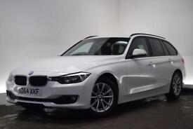 BMW 3 SERIES 2.0 320D EFFICIENTDYNAMICS BUSINESS TOURING 5d 161 (white) 2014