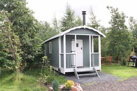 Shepherd Hut with all Fixtures and Fittings