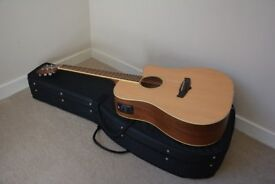 Tanglewood TW10 Dreadnought Cutaway Electro Acoustic Guitar