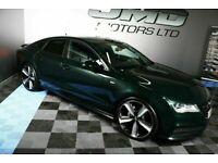 2013 AUDI A7 3.0 TDI QUATTRO S-LINE BLACK EDITION STYLE AUTO 242 BHP ( FINANCE & WARRANTY)