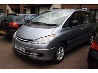 Toyota Previa. One previous owner!! Mobile phone 07551102484