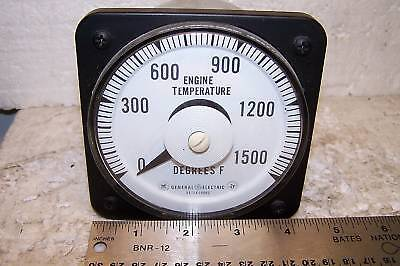 New Ge Engine Exhaust Temperature Panel Meter 647k39002 0-1500f 103111eaea2skg