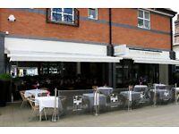 Restaurant Manager required Salary: £24k - £28k depending on experience + bonus + benefits + Tips