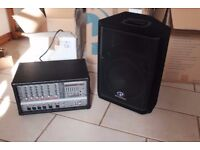 PA System - Phonic 620 plus & Phonic Speakers x2 (never used)