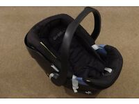 Cybex Aton Baby Car Seat - Black - Birth to 13kg
