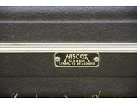 HISCOX Lite Flite Bass guitar case in excellent condition. Best case you can buy