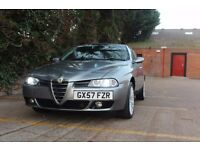 Alfa Romeo 156 2.0 ts Selespeed 57 plate design by GIUGIARO not fiat bmw mercedes audi 159