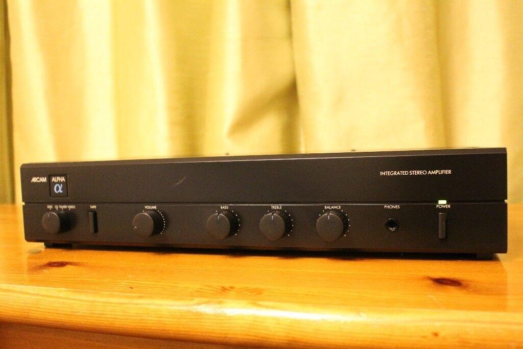 Arcam Alpha II Audiophile Amplifier