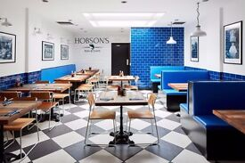 Waiting staff needed at our upmarket fish and chips restaurant in Bayswater.