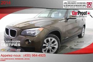 2014 BMW X1 xDrive 28i AWD *CUIR + TOIT PANORAMIQUE*