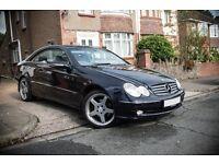 Mercedes CLK320 - 3.2 V6 - Auto/Tiptronic - Fully Loaded - FSH - AMG Alloys - Rare - W209