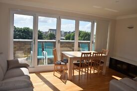 2 Bedroom Penthouse holiday apartment, min. booking 5 nights, sleeps 5, 10 min. to tube station