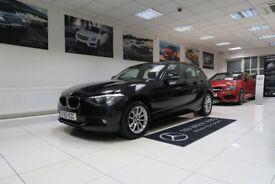 BMW 1 SERIES 1.6 116d EfficientDynamics Sports Hatch 5dr (black) 2012