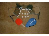 table tennis bat/balls