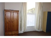 Excellent one bedroom flat in quiet house. GCH. Double glazed. New lounge carpet and curtains.