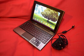 ASUS EeePad Transformer TF101 10.1 inch Tablet PC with docking station and keyboard