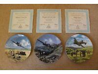 WW2 British Military Aircraft - set of 12 Royal Doulton Plates