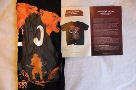 Far Cry Primal T Shirt, Loot Gaming Crate Exclusive Tshirt, Mens Medium.