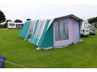 A Suncamp six berth frame tent in good condition
