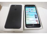 Apple iPhone 7 Plus - 256GB - Black - Unlocked - Boxed - 1 year Apple care warranty