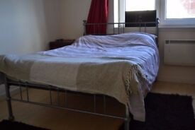 Metal Frame Double Bed inc Mattress