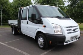 2013 Ford Transit 2.2 TDCi 350 L Double Cab Dropside Truck RWD 4dr (EU5, Extended Frame, LWB)