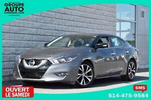 2016 Nissan Maxima SV*CUIR*NAVIGATION*AUTOM*CHARCOAL*