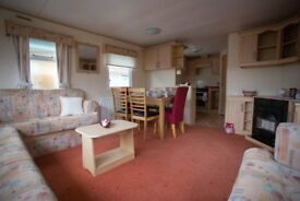 Static caravan for sale at Tattershall Lakes Country Park near Skegness Lincolnshire near beach