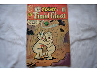 Vintage 1969 Charlton Comics Timmy the Timid Ghost Full Colour 15 cents Version 1 Owner near Mint!