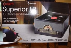 ion 7 in 1 superior lp music centre with digital conversion