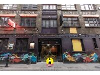 EC2A - Pop Up kitchen opportunity to rent in The Lighthouse on Rivington St - private landlord