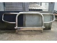 Stainless steel bull bar