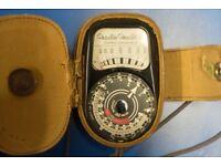 Vintage Weston Master 3 Light Meter