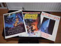 Star Wars, Empire Strikes Back & Return Of The Jedi Original Official Collectors Edition & More