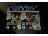 Newcastle Football Programmes From 90s