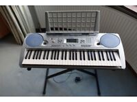 Yamaha PSR-275 Keyboard and Stand