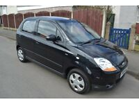 2009 chevrolet matiz 1.0 se metallic black low miles full mot