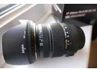 sigma 17 50 2.8 lens canon fit