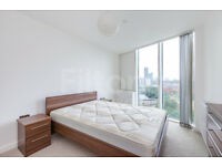 Stunning two bedroom two bathroom with views of Olympic park and London Skyline close to Station