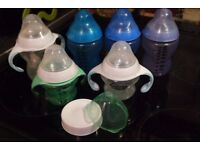 Tommee Tippee Feeding bottles with handles USED - FREE