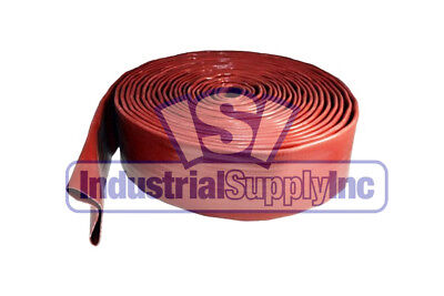 Water Discharge Hose 1-12 Red Import 100 Ft Industrial Supply