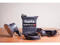 Elinchrom Quadra Ranger Rx Hybrid Lithium Li-ion battery, pack and S head