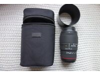 Nikon fit Sigma APO DG macro 70-300 (105-300) F4-5.6 Japanese-made tele zoom, mint condition