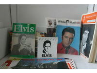 Elvis Presley magazines, etc.