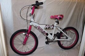 "[BRAND- NEW] childs 18"" Bike (GIRLS) ""BREEZE"" Beautiful PINK, WHITE and Black Paint Job.(NEVER USED)"