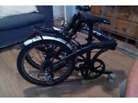 Carrera Intercity folding bike - Nearly new with upgraded pedals (Similar to Tern, Dahon, Brompton)