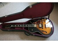 Aria ProII Guitar early 1990's jazz style acoustic.